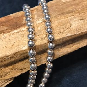 Desert Pearls Sterling Silver Necklace